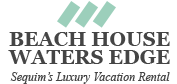 WatersEdge….Sequim's Luxury Beachfront Vacation Rental